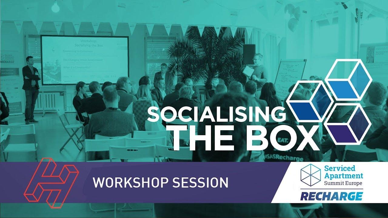 SAS RECHARGE 2019: Socialising the Box session