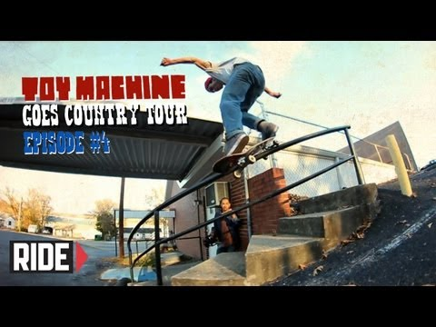 preview image for Daniel Lutheran, Collin Provost, Ryan Spencer, and More! - Toy Machine Goes Country Tour Episode 4