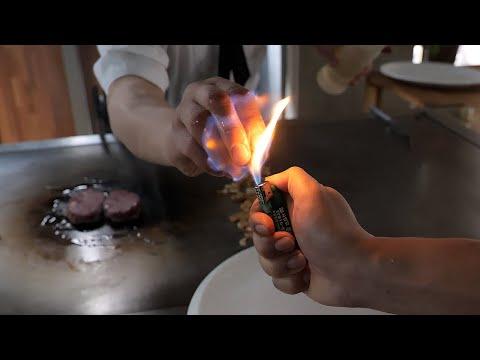 철판요리 달인, 생활의 달인 최강자 / amazing skill! korean teppanyaki steak master