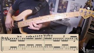 Tower Of Power - What Is Hip [BASS COVER] - with notation and tabs
