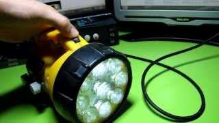 Самодельные фонари на светодиодах для рыбалки