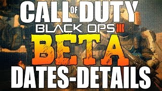 Black Ops 3 Multiplayer Beta Dates Officially Announced! PS4, XBOX ONE, PC (BO2 Gameplay)