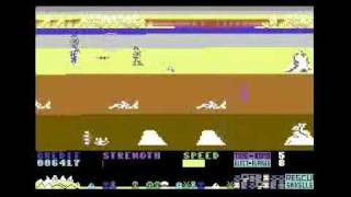 Strontium Dog - Quicksilva - Commodore 64 C64 gameplay