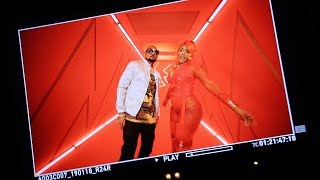Sean Paul & Stefflon Don 'Shot & Wine' Video Shoot | Robbo Ranx Radio