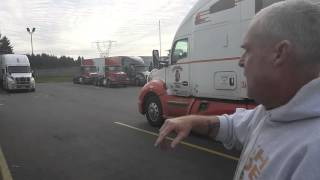 Student - Truck Backing Up @ Flying J in Aurora, OR
