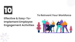10 Employee Engagement Activities That Work - Vantage Circle
