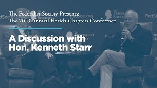 Click to play: Lunch and Discussion with Hon. Kenneth Starr