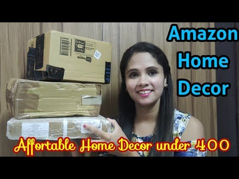 Amazon Home Decor Haul || Home Decor under 400 || Amazon Home Decor items And unboxing