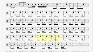 Anti Flag   Mumia 's Song DRUM TABLATURE