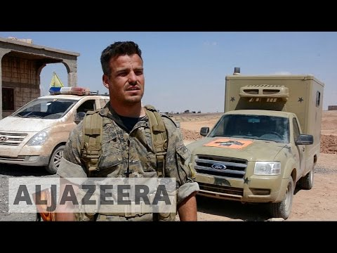 Foreign fighters join Syrian Democratic Forces