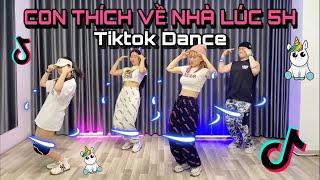 TIKTOK DANCE   CON THÍCH VỀ NHÀ LÚC 5h   Lê Bống Channel   DJ Tom2k Remix