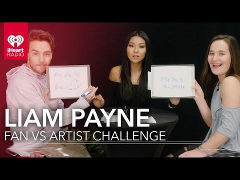 Liam Payne Duels Fan in Liam Trivia | Fan Vs. Artist