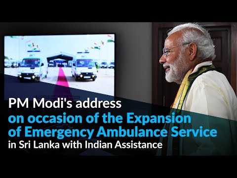 PM Modi inaugurates several projects in Jaffna via video conferencing