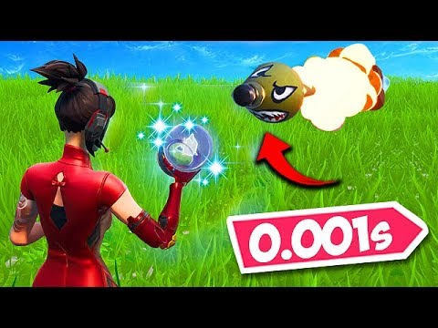 *0.1 SECOND* INSANE RIFT SAVE! - Fortnite Funny Fails and WTF Moments! #570