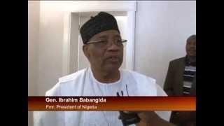President Goodluck Jonathan Visit Former President Babangida IBB