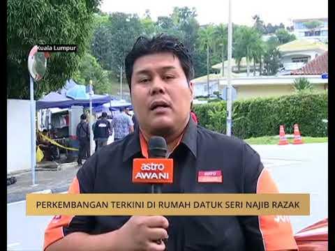Perkembangan terkini di rumah Datuk Seri Najib Razak