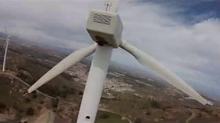 Wind Power fpv drone