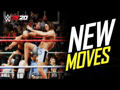 WWE 2K20 ALL NEW MOVES! (Amazing)