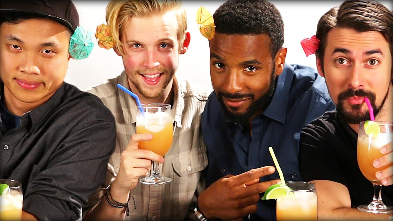 "Men Taste Test ""Girly Drinks"" thumbnail"