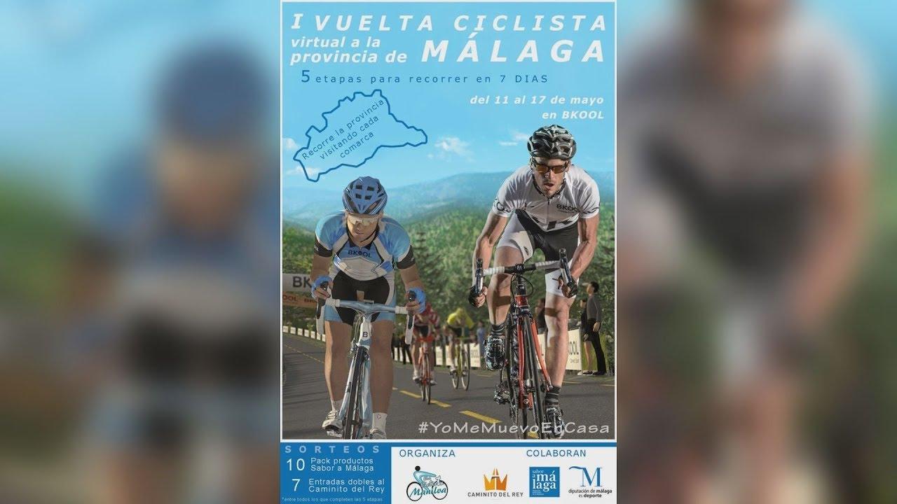 Finaliza los 101 kms y comienza la vuelta a Málaga