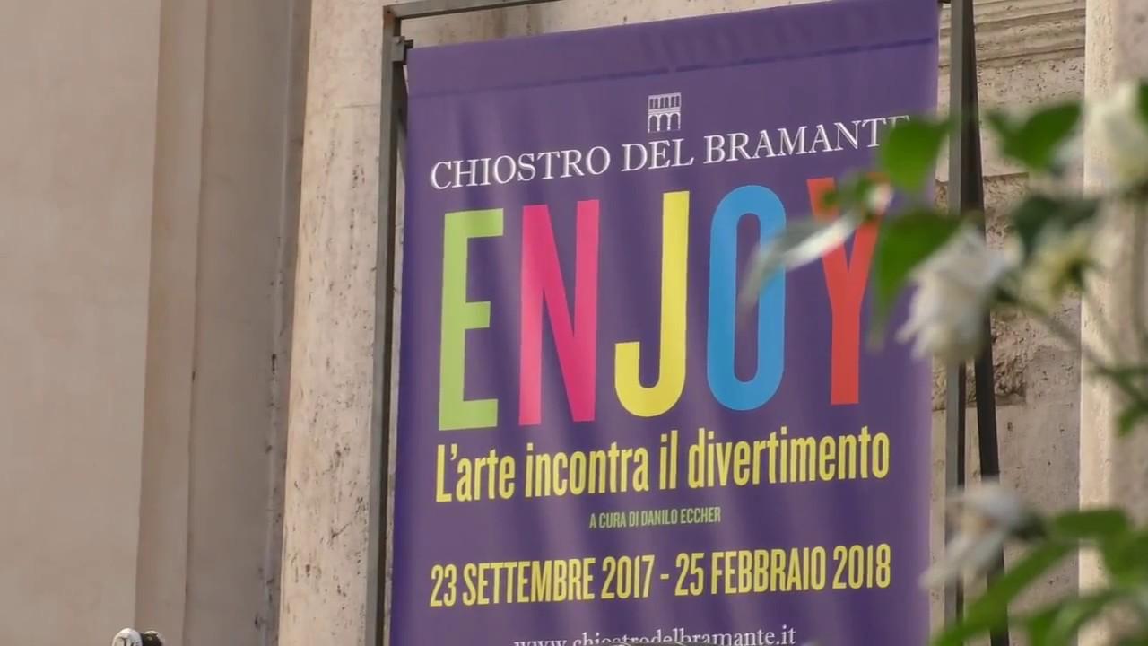 "Arriva ""Enjoy"" al Chiostro del Bramante"