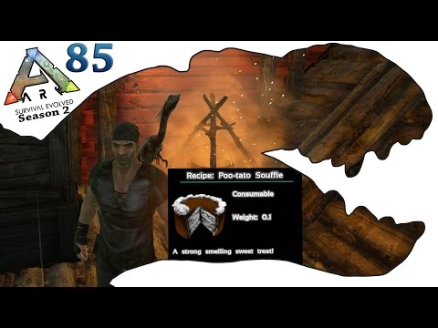Video ARK Survival Evolved Gameplay - S2 Ep85 - RP Cooking Recipe System & Compy Taming  - Let's Play