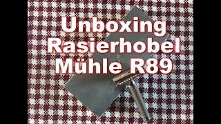Unboxing Mühle R89 Rasierhobel   Perma Sharp Rasierklingen   Blackbeards Lieferung