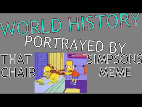 Bart Hits Homer With a Chair, But It's World History