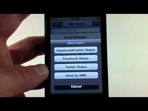 iSocialize iPhone App Review for Facebook and Twitter!