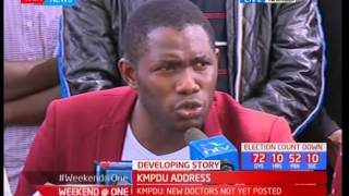 KMPDU address on various issues including CBA not signed yet