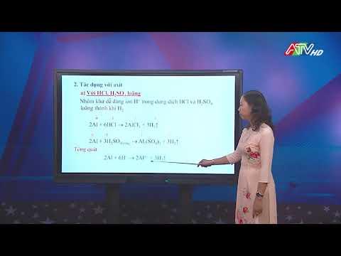 MÔN HÓA HỌC LỚP 12 HK II 01/ 4/ 2020 ATV