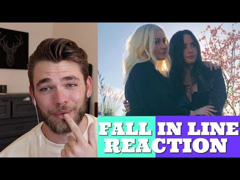FALL IN LINE MUSIC VIDEO REACTION (Christina Aguilera ft. Demi Lovato) mp3