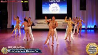 WSS16 Professional Large Team Open Salsa 3rd Place Rompecabeza Dance Co