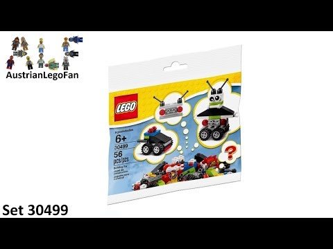 Vidéo LEGO Classic 30499 : Robot / Vehicle Free Builds - Make It Your (Polybag)