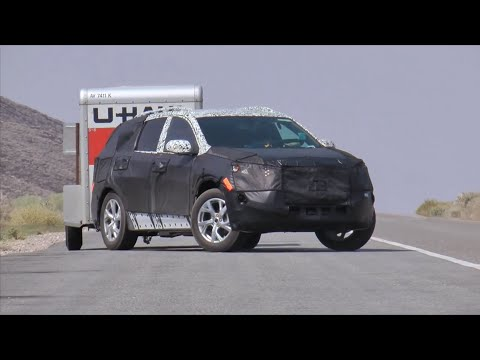 2017 Chevrolet Equinox Spy Footage