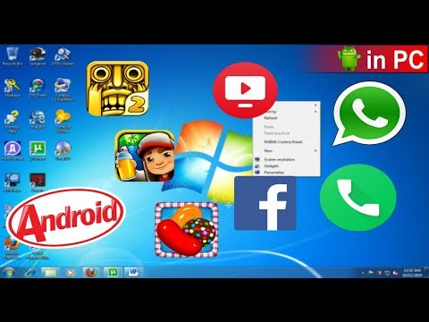 How to Run Android apps on Windows 7/10/8.1 - Pc/Laptop/Computer