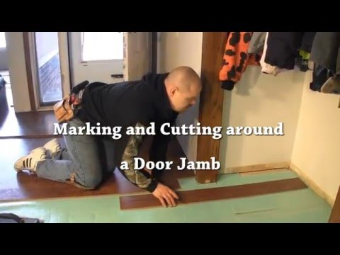 How To Install The First Row Of Laminate Flooring   So Thatu0027s How You Do  That!