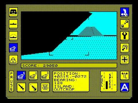 Carrier Command Walkthrough, ZX Spectrum