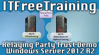 AD FS Configuring a Relying Party Trust