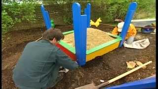 Bauanleitung, Sandkasten selber bauen