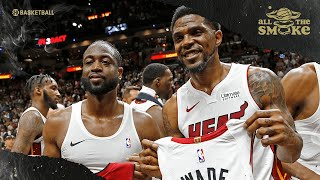 Udonis Haslem Opens Up About Relationship With Dwyane Wade & Miami Culture | ALL THE SMOKE