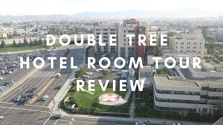 DISNEYLAND DOUBLETREE HILTON HOTEL ANAHEIM ROOM TOUR REVIEW