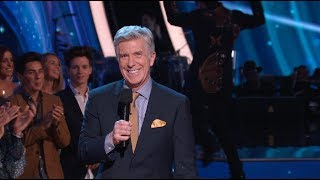 Making of DWTS: Hosts Tom Bergeron and Erin Andrews