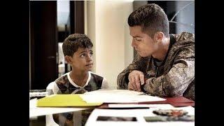 Cristiano Ronaldo Emtional about his son Cristiano jr