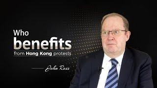Who benefits from Hong Kong protests?