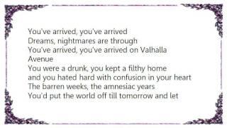 Fatima Mansions - Valhalla Avenue Lyrics