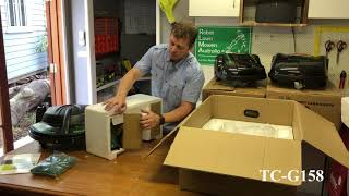 Robot Lawn Mowers Australia – Exgain TC G158 – Unboxing Video