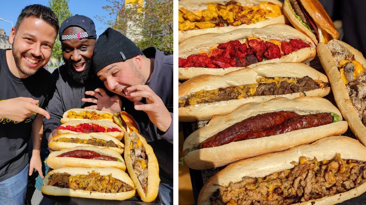 LA BRIGADE a trouvé un VRAI SNACK à l ANCIENNE : Sandwichs baguette de ouf! - VLOG 1143
