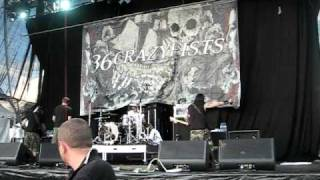 36 Crazyfists LIVE [I'll Go Until My Heart Stops] - Soundwave Festival 2009