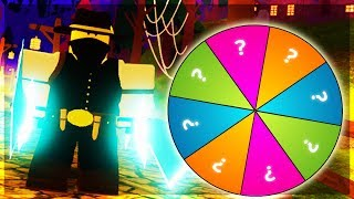 THE *WHEEL* TRIES TO CHOOSE FOR ME! (ROBLOX DUNGEON QUEST)